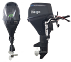Electric outboard motor VDC-e-series